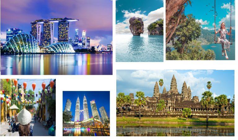 تور دور آسیا لاکچری ( 6 کشور )