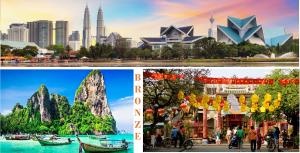 تور دور آسیا برنزی ( 3 کشور )