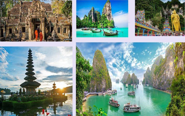 تور دور آسیا طلایی ( 5 کشور )