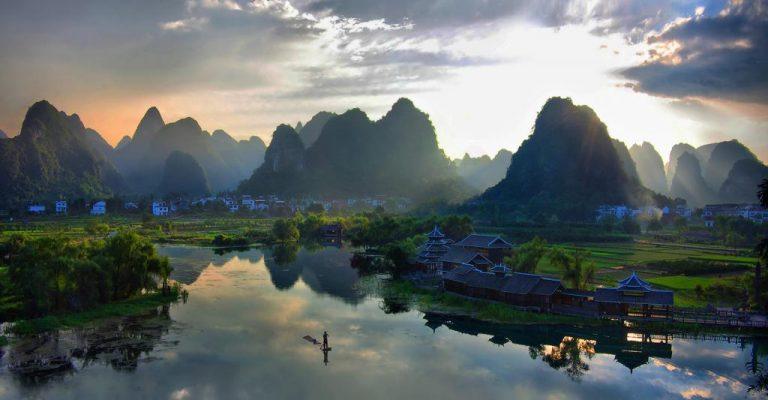 رودخانه یانگ تسه چین