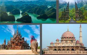 تور دور آسیا نقره ای ( 4 کشور )