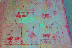 نقش و نگار روی دیواره های معبد انگکور وات