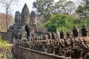 ورودی اصلی معبد انگکور وات