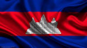 پرچم کامبوج به دلیل نماد معبد انگکور وات بر روی آن