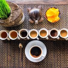 قهوه های متنوع برای پرزنتیشن قهوه لاواک