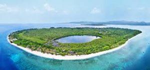 دریاچه کوچک جزیره گیلی منو