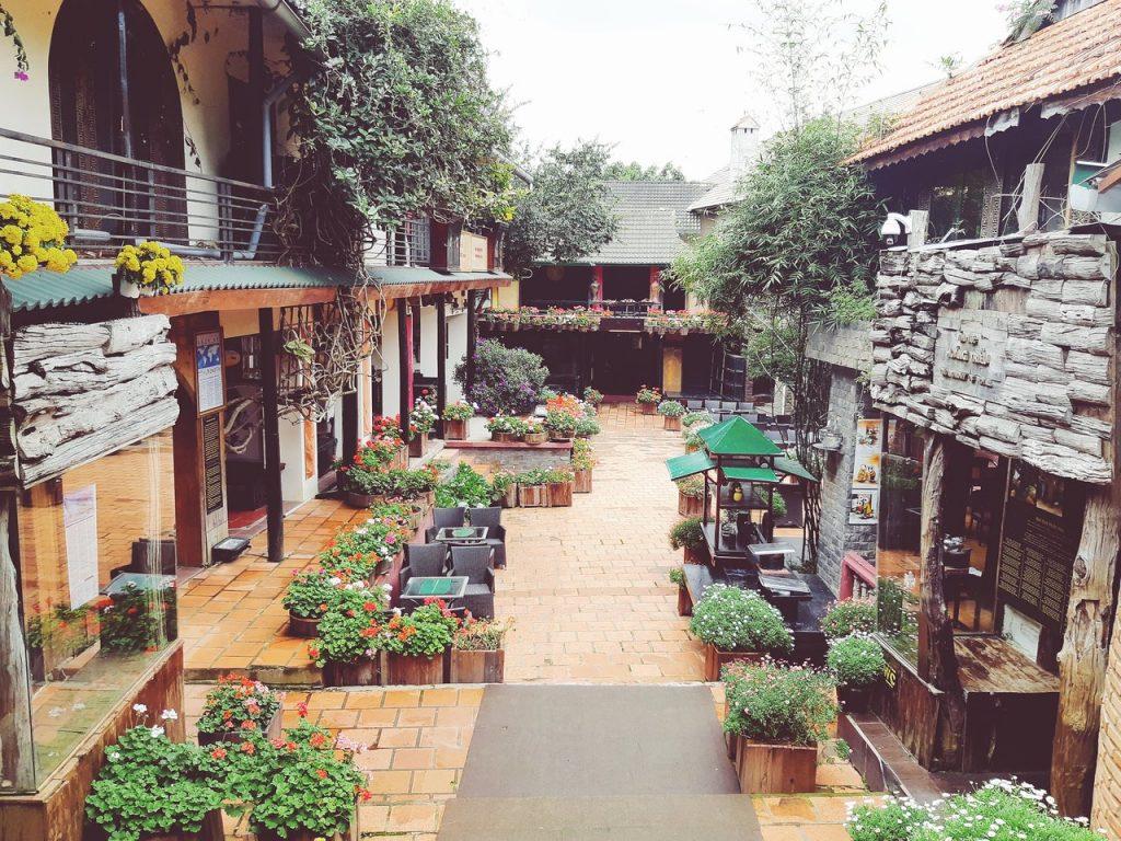 روستای XQ برای مطلب فروشگاه های دالات ویتنام