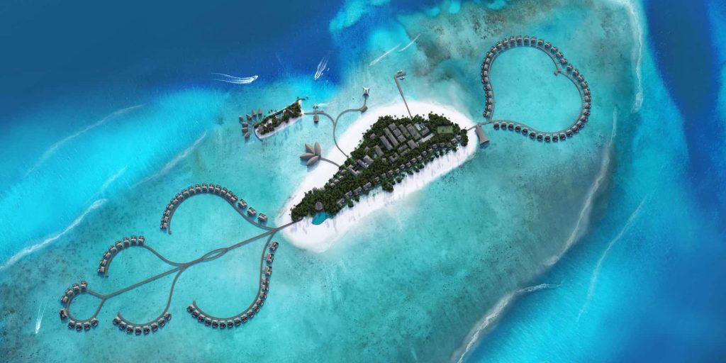 مجموعه اتاقهای هتلی در تور مالدیو