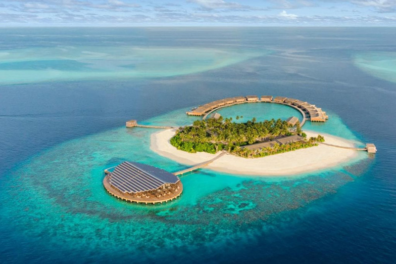 جزیره کوچک و زیبا در تور مالدیو و تور ماه عسل مالدیو