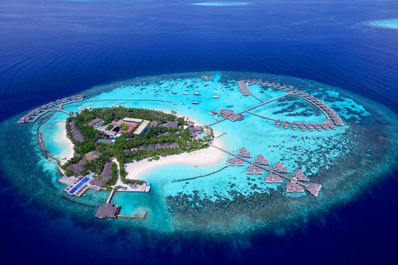 هتل سنتارا یکی از هتلهای زیبای تور مالدیو