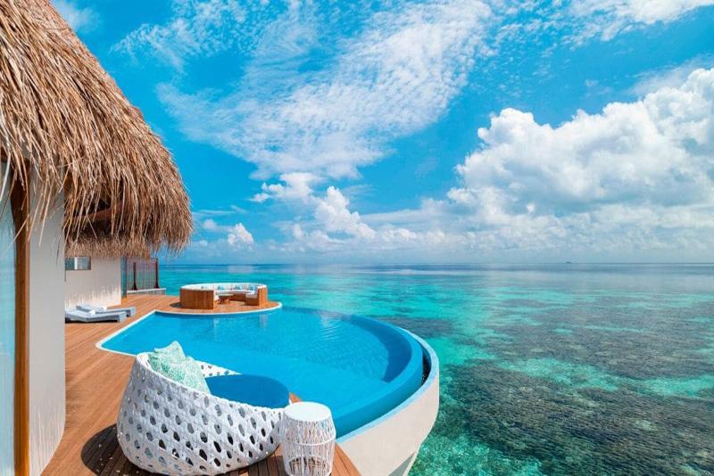 منظره بی اندازه زیبای جزیره های تور مالدیو و تور ماه عسل مالدیو