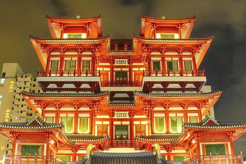 معبد دندان بودا یکی از جاذبه های مهم ترین شهرهای سریلانکا