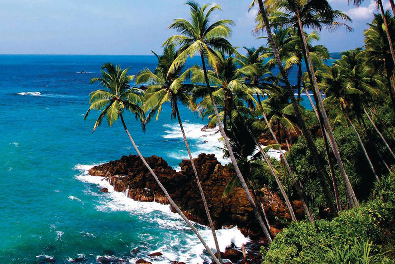 سواحل کلمبو بعنوان یکی از جاذبه های مهم ترین شهرهای سریلانکا