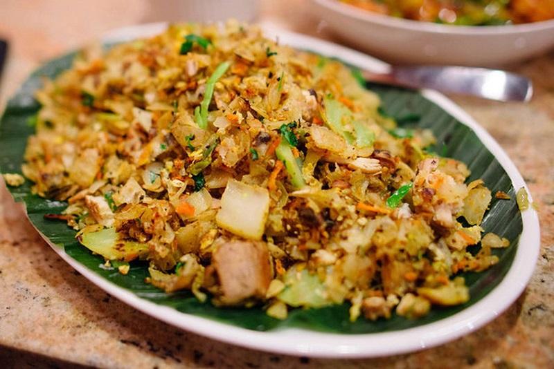 kottu از جمله غذاهای سریلانکا
