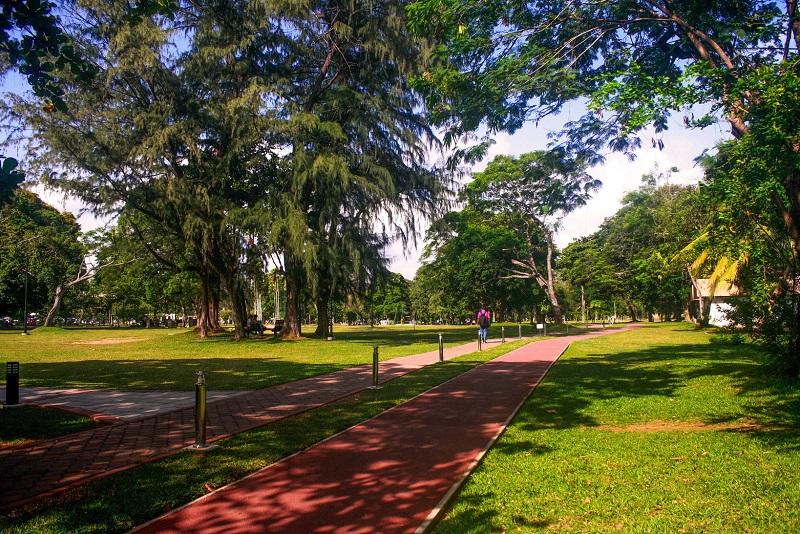 پارک یکی جاذبه های گردشگری کلمبو