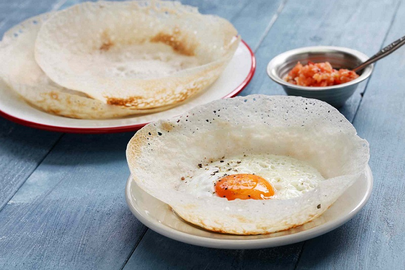 Hoppers از جالبترین غذاهای سریلانکا