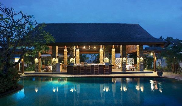 رستوران هتل سامایا در هتلهای مناسب خانواده بالی
