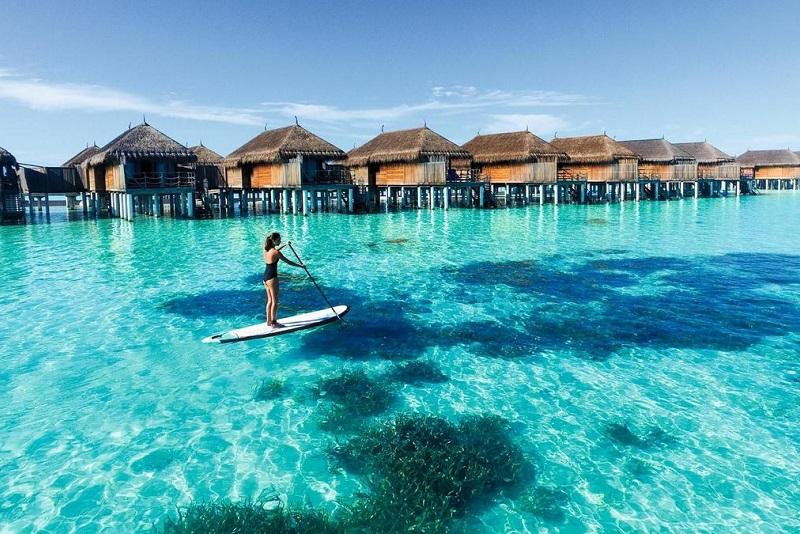 تفریحات آبی در فصل سفر به مالدیو