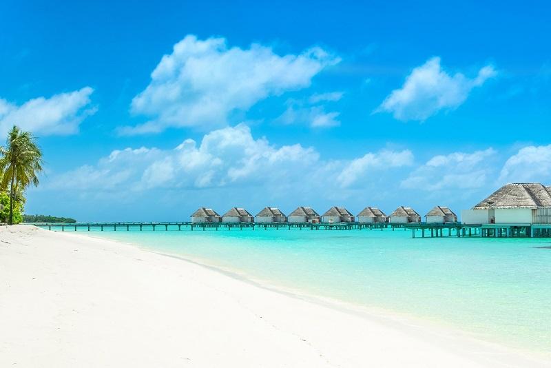 زیبایی ویلاهای روی آب دز فصل سفر به مالدیو
